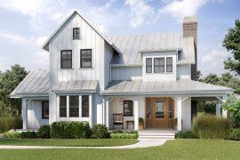 Modern farmhouse featuring JELD-WEN windows