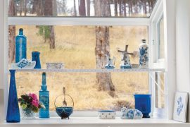 Garden windows bring light and beauty to a room.